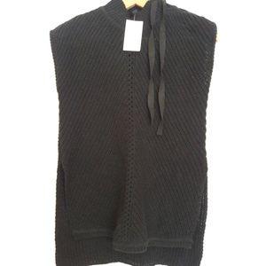 New Jessica Simpson Black Sweater Tunic Vest